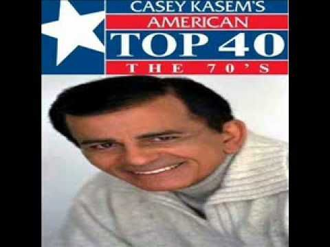 Casey Kasem's American Top 40 (my weekly radio fix) 1973 - bennie & the jets/dust in the wind/timothy/knock on wood/hooked on a feeling/temptation eyes/chevy van