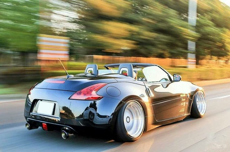 #Nissan #350z #370z #Convertible #Modified #Camber #Slammed