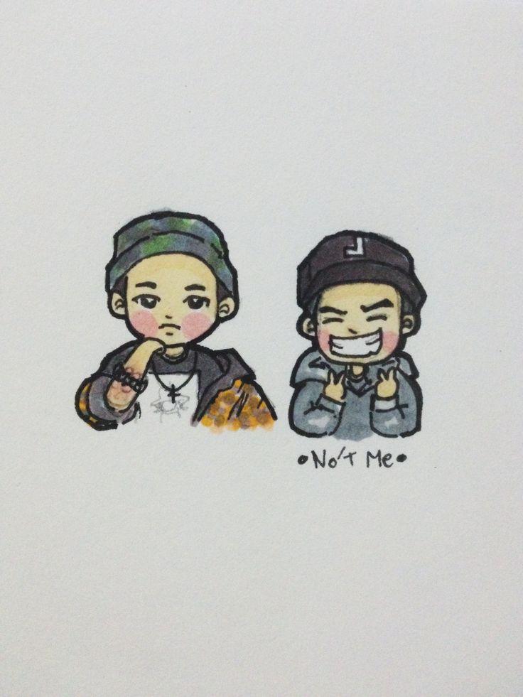 [Fanart] Joo Young & Jooheon IG #jooyoung #jooheon