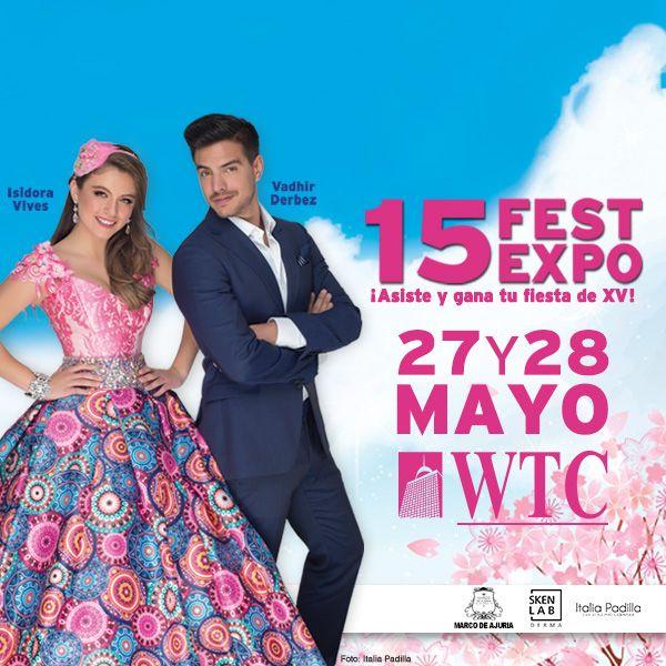 ¿Ya tienes tu vestido de quince años? Te esperamos este 27 y 28 de mayo en el 15 FEST Expo 2017 en el WTC, en la CdMX. el vestido de tus sueños te estará esperando!! ahí nos vemos! @Scarlet Vestidos de XV años