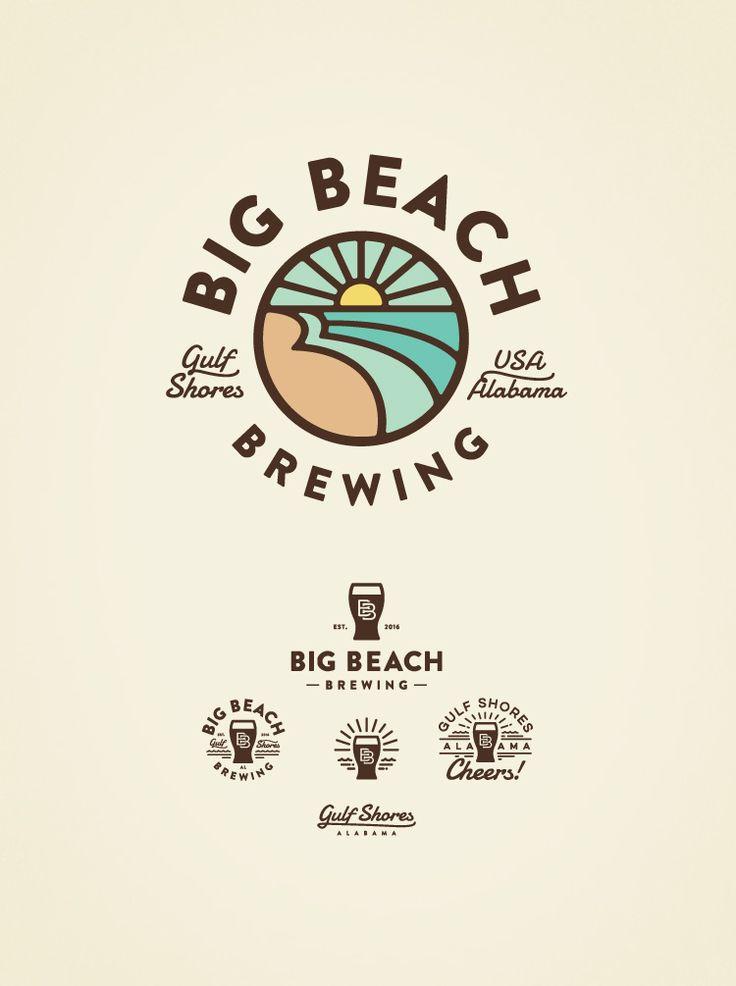 Big Beach Brewing Logo by Jared Jacob