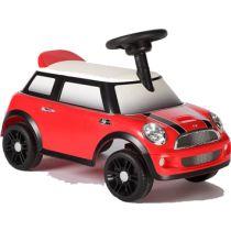 Foot to floor car - red mini cooper