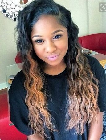 New Cute Hair Weaves Pictures | Best Glaze Implants Yummy Hair ...