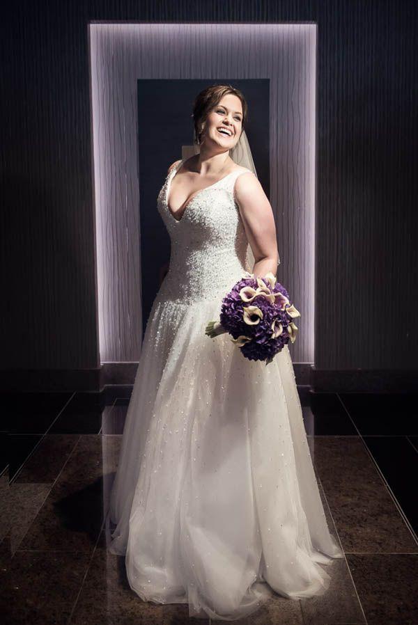 Modern Vegas bride