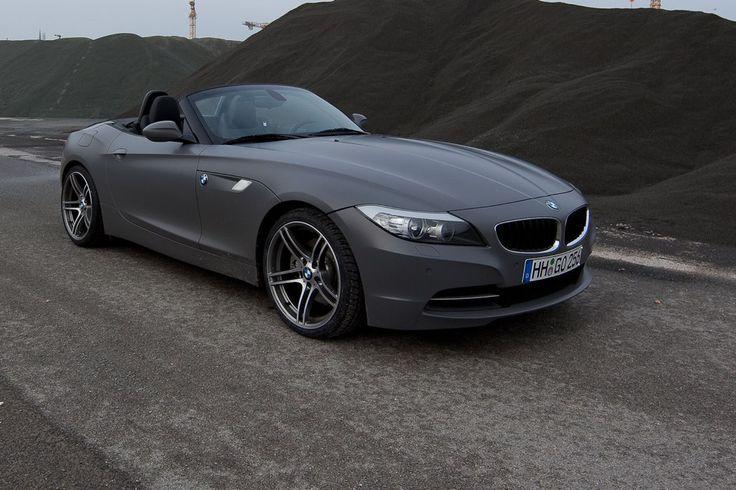 Grey BMW Z 3
