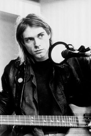 Kurt Cobain of Nirvana.  Grunge god and troubled soul.