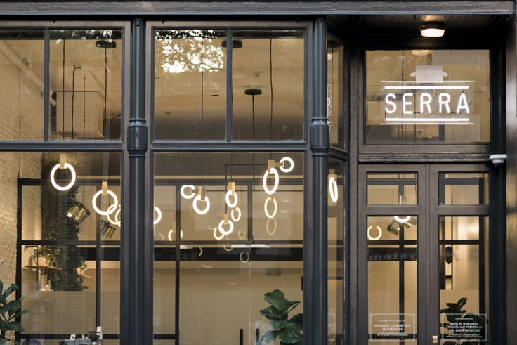 Serra is a Portland-based shop that's a high-end cannabis dispensary that prides itself on providing beautiful, minimalistic pipes and accessories.
