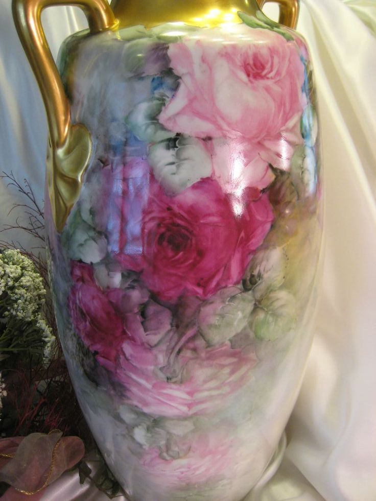 1000 Images About Porcelain Vases On Pinterest Vienna Yellow Roses And France 14