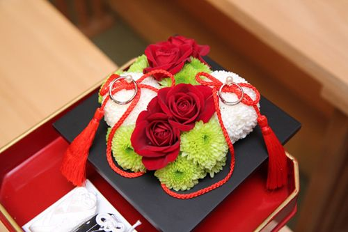 Wedding ring pillow - Jpanese style -