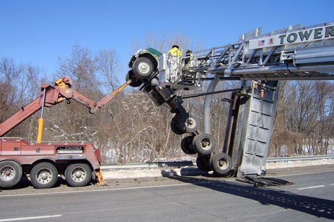 Samochodowe wpadki