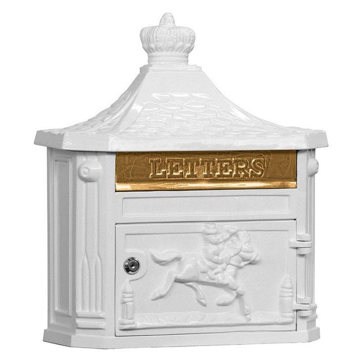 Salsbury Victorian Mailbox White - 4460WHT