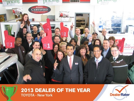 Woohoo! Second year in a row! We're proud...we're happy...our customers ROCK.