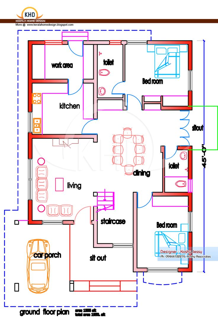 The 25 best indian house plans ideas on pinterest Building plans indian homes