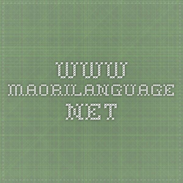www.maorilanguage.net  #Proverbs #Maori