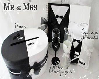 "Coffret mariage ""Mr & Mrs"""