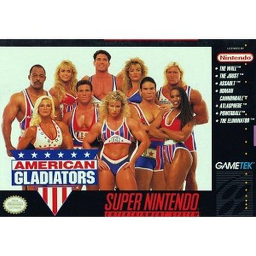 American Gladiators (Super Nintendo Entertainment System, 1993)