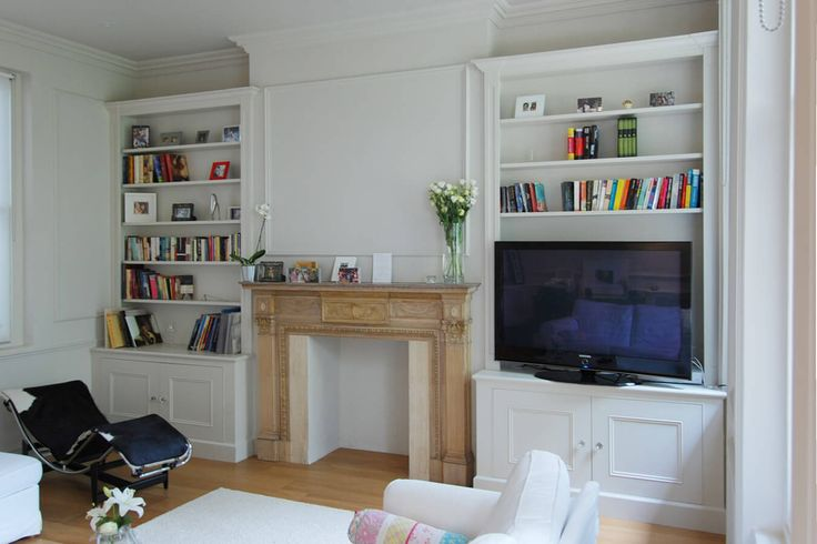 alcove cupboards | Fitted alcove cupboards and shelves