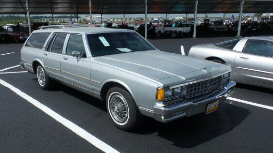 1981 Chevrolet Caprice Classic Station Wagon