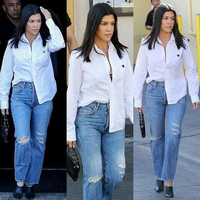 #Kourtneykardashian out and casual in Glendale California . . . . . . . . . . . . . . . . . . . .#InstaFashion #Fashion #Style #Stylish #Fashionista #FashionBlogger #Stylist #FashionDaily #IGStyle #photooftheday #StreetFashion #Streetstyle #Ootn #Ootd #lookoftheday#celebrityfashion