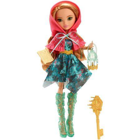 Ever After High Through The Woods Ashlynn Ella Doll, Multicolor