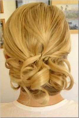 i love the back of this updo!