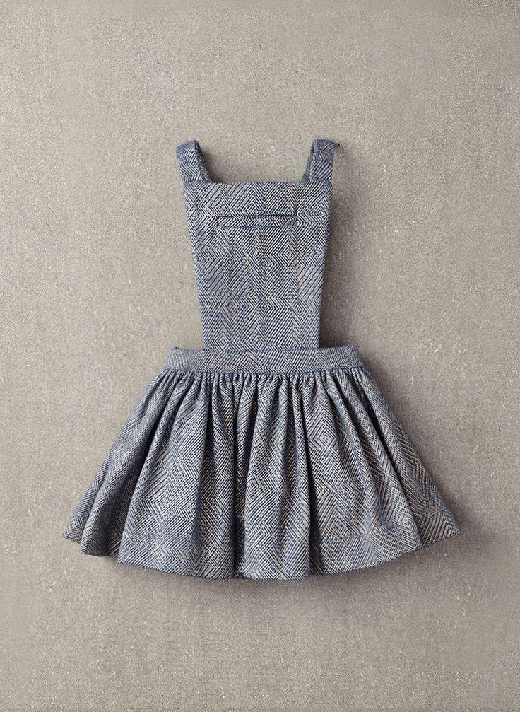 Nellystella Ella Dress in Light Grey Foil – The Girls @ Los Altos