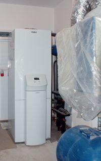 Pompa ciepła Vaillant geoTHERM plus VWS 62/2 z zasobnikiem ciepłej wody użytkowej o pojemności 175 litrów