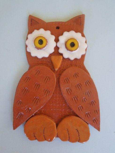 Sova - keramika Co kus, to originál.