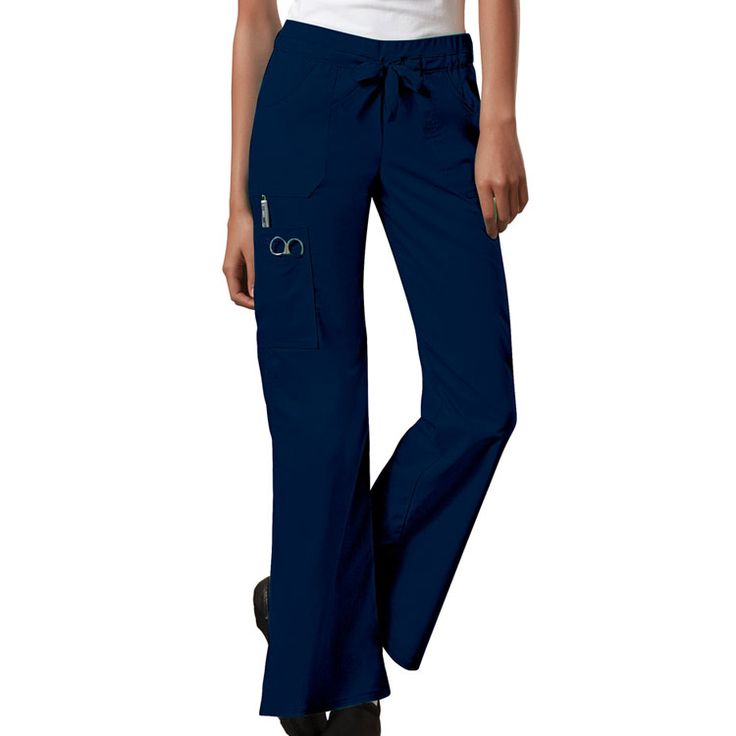 Core Stretch by Cherokee Workwear Women's Junior Flare Leg Scrub Pant | allheart