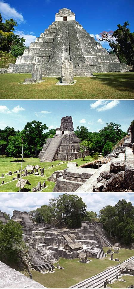 Tikal is one of the largest archaeological sites and urban centers of the Pre-Columbian Maya civilization. It is located in the archaeological region of the Petén Basin in northern Guatemala.