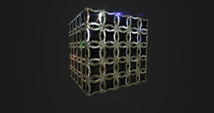 ArtStation - Substance Designer Metal Tile variation, inho kim