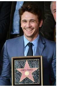 James Franco receives star on Hollywood Walk of Fame