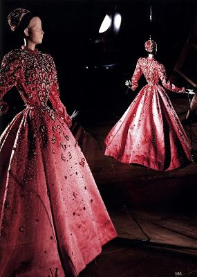 Evening dress by Balenciaga 1945