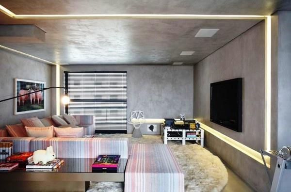 Dream homes interiors designs DJ Studio by Guilherme Torres