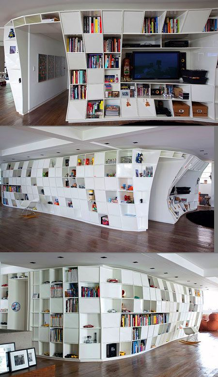 Book Case Living Room