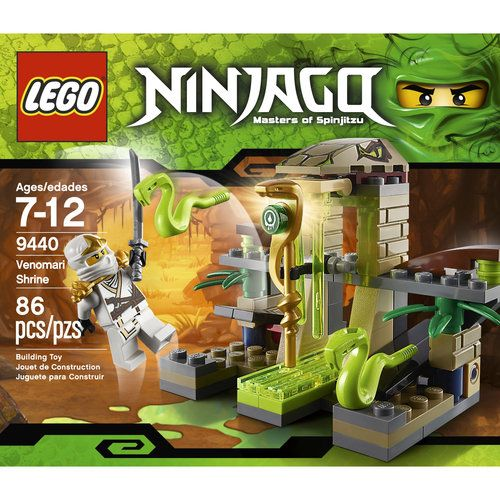 ninjago venomari shrine set lego 9440