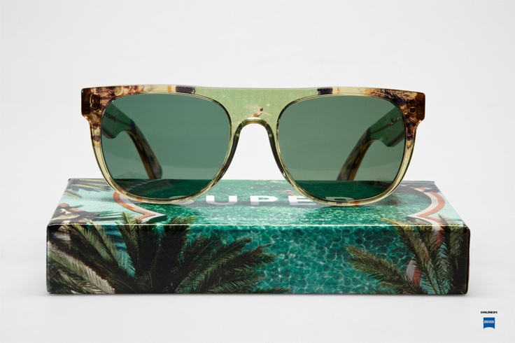 tropical sunglasses / Super