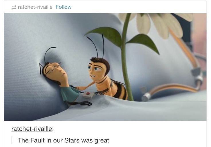 Yes I Ship Internationally, huffylemon:   The Bee Movie and Tumblr