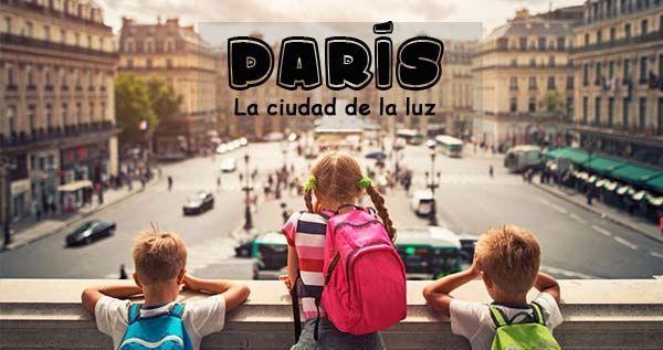 Visitar París con niños. Una vuelta por la ciudad de la luz, Eurodisney, La Torre Eiffel, el Museo del Louvre o una vuelta por el rio Sena