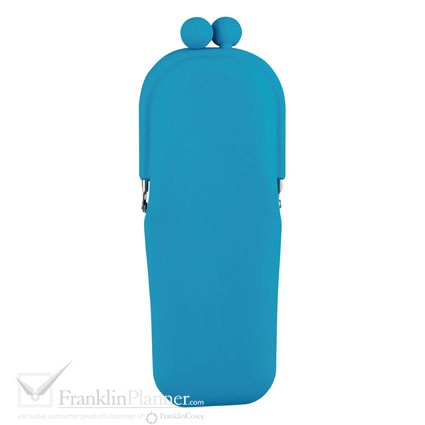 Keep your pens and pencils organized with this slim and convenient silicone pencil case. $12.95