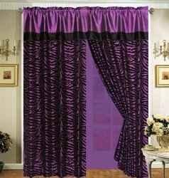 Purple Curtain ideas for the bedroom @ http://www.squidoo.com/purplecurtains