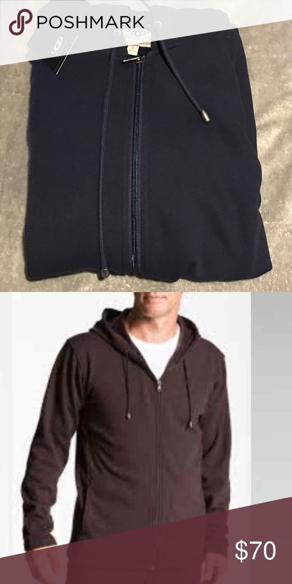 UGG AUSTRALIA BOWNES Navy Zip up hoodie Medium NWT UGG Australia 'Bownes' Zip Hoodie  UGG AUSTRALIA Bownes  zip hoodie Medium  Medium  Color: Navy  BRAND NEW!! :: $95  Brand New with tags!!  True to size UGG Sweaters Zip Up