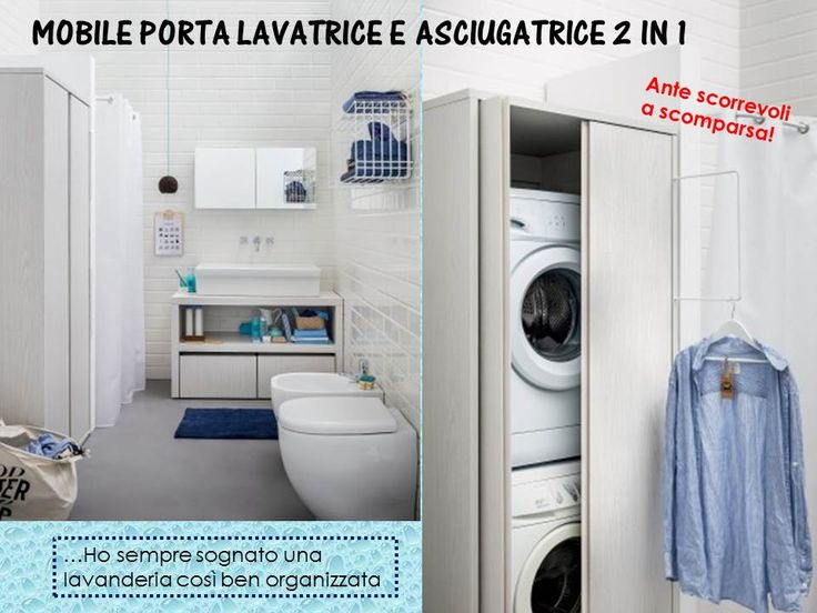 50 best MOBILI LAVANDERIA images on Pinterest | Laundry room ...