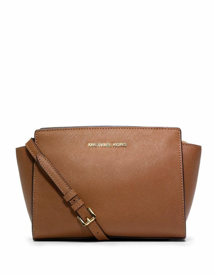 5627979d18d143 2c246 3e449; official store michael michael kors selma leather medium  messenger bag lord and taylor e34e0 1eb47