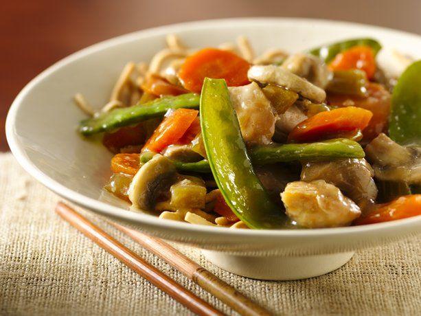 Slow Cooker Chicken Chow Mein