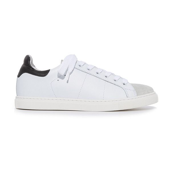 IRO Naolia Sneaker (5.445 ARS) ❤ liked on Polyvore featuring shoes, sneakers, accessories, home, women's, leather sneakers, leather trainers, platform shoes, leather shoes and leather platform shoes