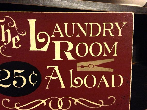 Primitive Laundry Room Sign Laundry Room by DaisyPatchPrimitives