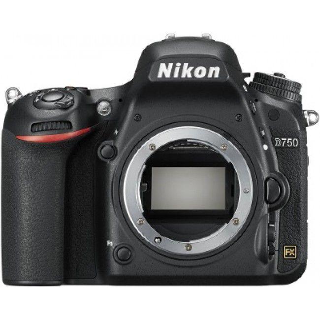 The all new Nikon D750 full frame body.