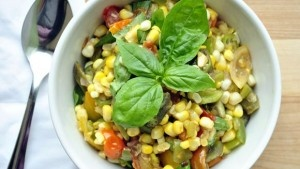 Quick Vegetable Saute Celebrating Summer