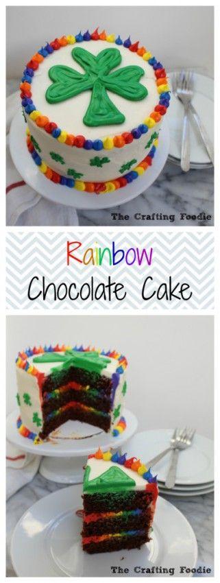 6-Inch Rainbow Chocolate Cake